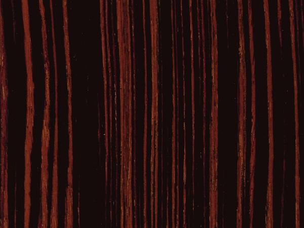 feuille placage bois reconstitu sur stratifi alpikord eb ne macassar de fil 305x130. Black Bedroom Furniture Sets. Home Design Ideas