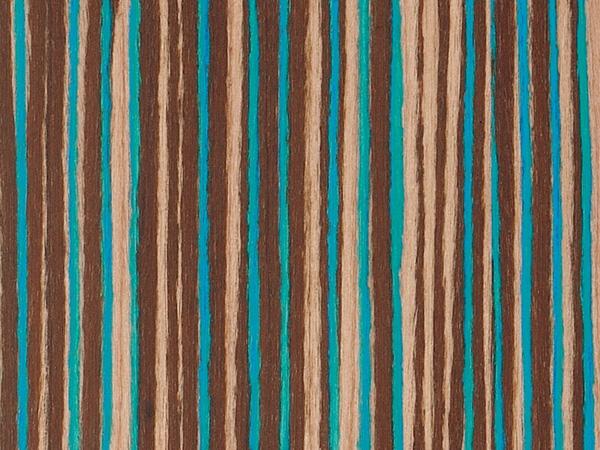 Feuille placage bois reconstitu sur stratifi alpikord lagon 250x125 10 10mm - Feuille de placage ...