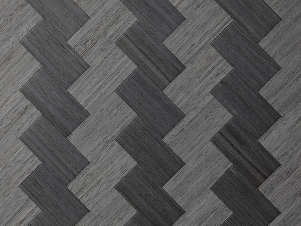 Feuille placage bois brut tress s papeete ch ne de fil teint noir t454066 244x122 11 10mm - Feuille de placage ...