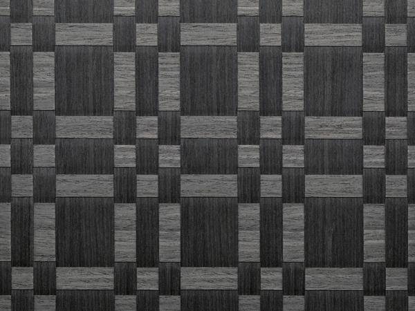 Feuille placage bois brut tress s bahia ch ne de fil teint noir t906666 244x122 11 10mm - Feuille de placage ...