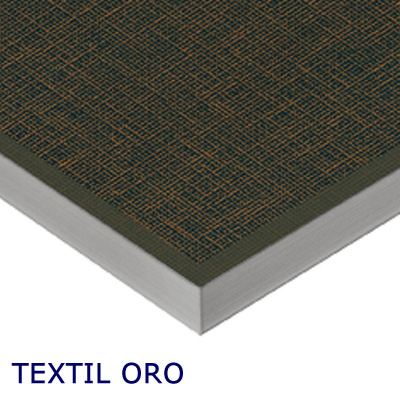 MDF Ultra brillant Luxe Alvic Textil Oro 18mm 275x122