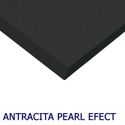 MDF Ultra brillant Luxe Alvic Anthracite Pearl Effect 18mm 275x122